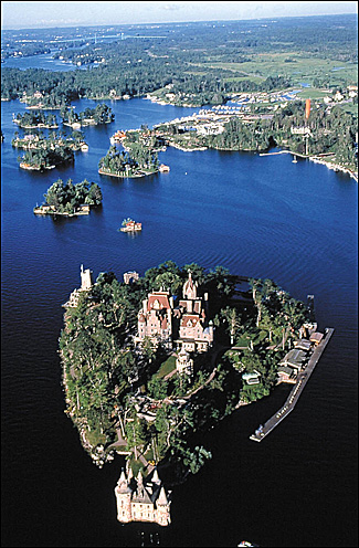 Aerial-of-Boldt-Castle-castles-496